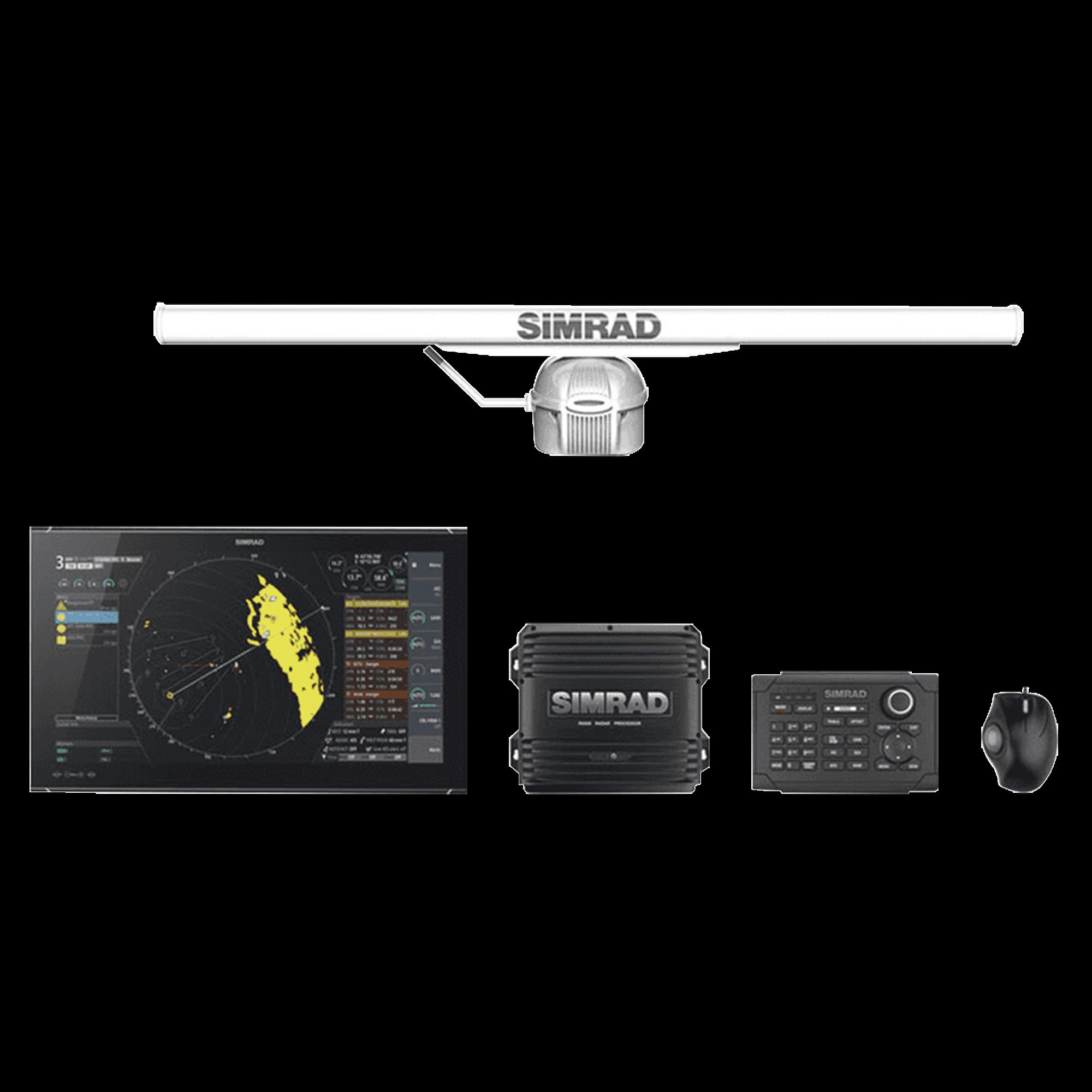 SIMRAD r5027 25u / 6x: sistema de radar de banda X