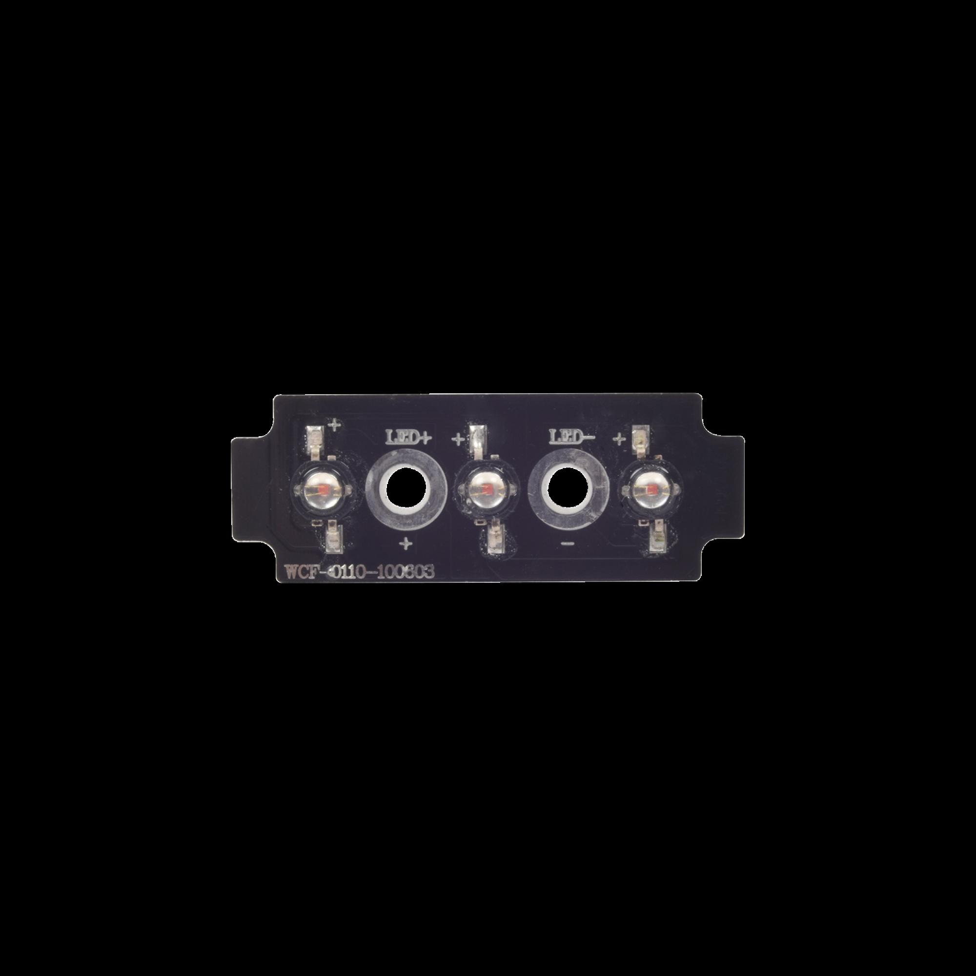 Tablilla de reemplazo con 3 LED ambar para XLL1084