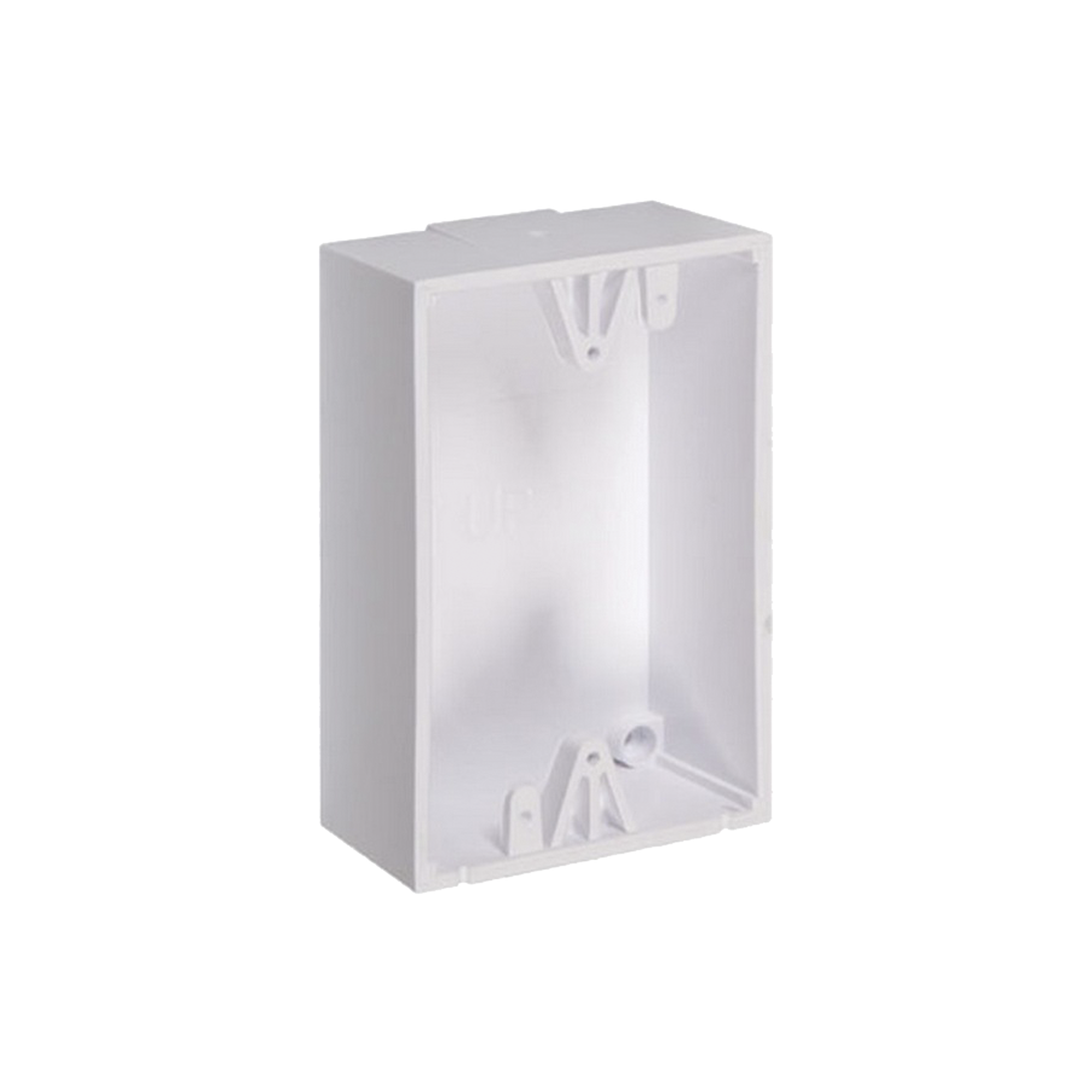 Caja de Montaje Color Blanco para Botones de Emergencia STI