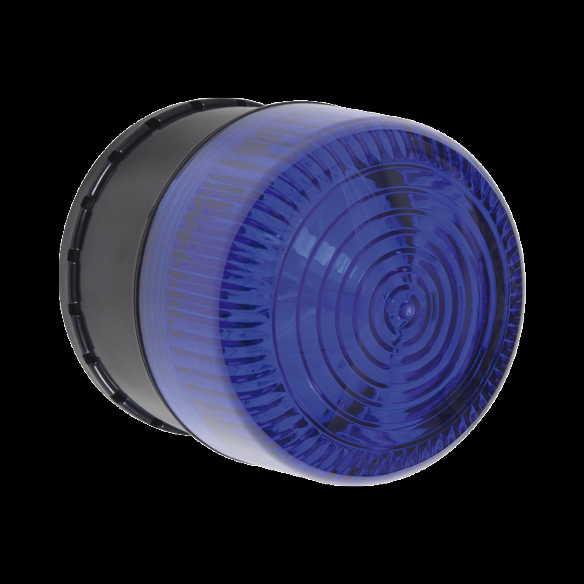 Alarma de Una Zona para Uso en Exterior, Notificacion Audible y Visible, Color Azul