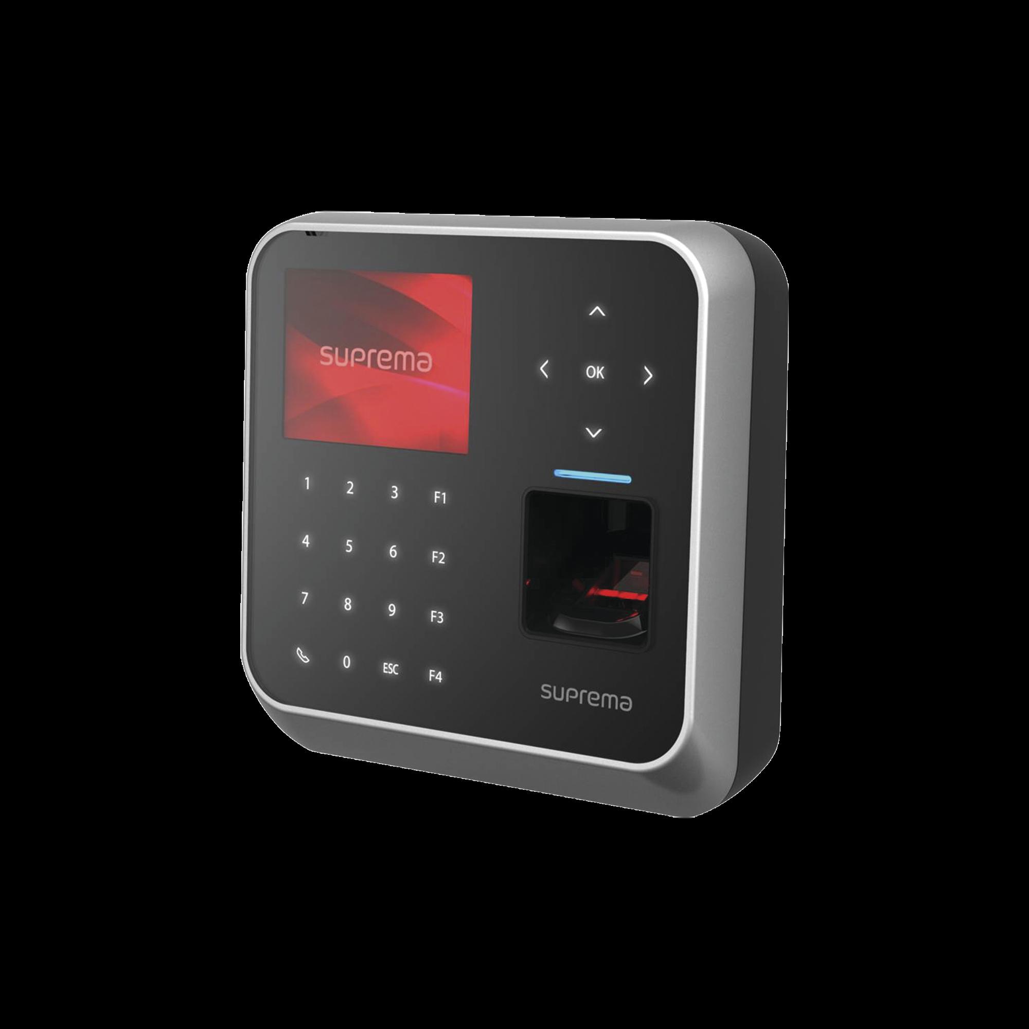 BioStation 2 Lector Ultramoderno de Huella, Lector 13.56MHz iClass SE y Teclado / WiFi /Protección IP65