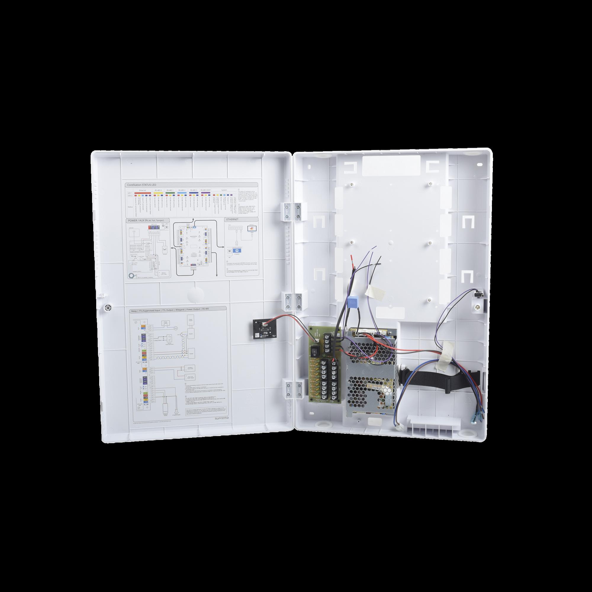 Gabinete de Plastico para CoreStation CS40 con Fuente de 110VCA