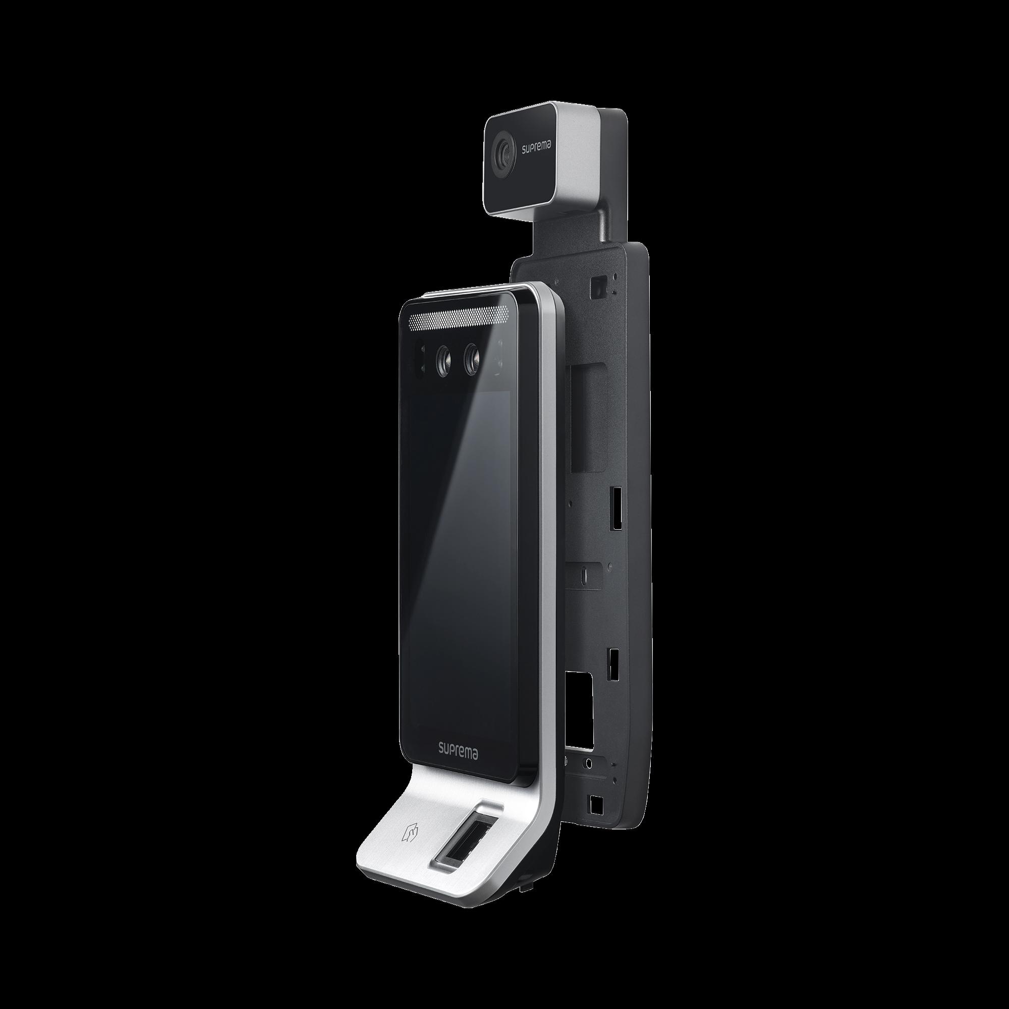 Lector de reconocimiento Facial/F2 /   de Huella / Notificación por Temperatura / con lector de RFID(125kHz EM & 13.56 Mhz MIFARE)  Compatible con BioStar2