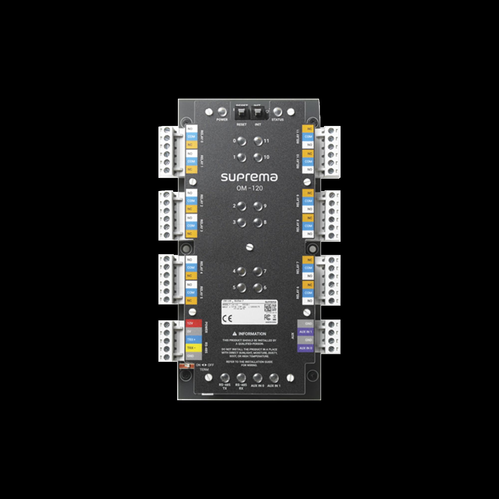 Modulo de Control / 12 Relevadores de Salida con Funcion para Control de Elevadores