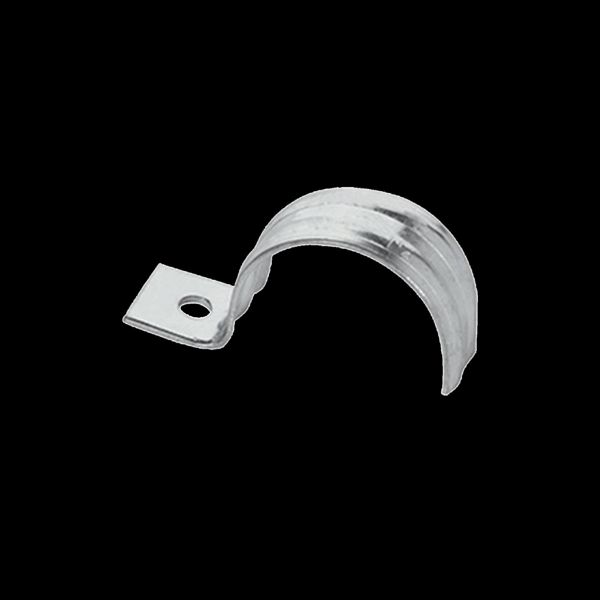Abrazadera para tubo tipo uña 1/2 bolsa con 10 piezas