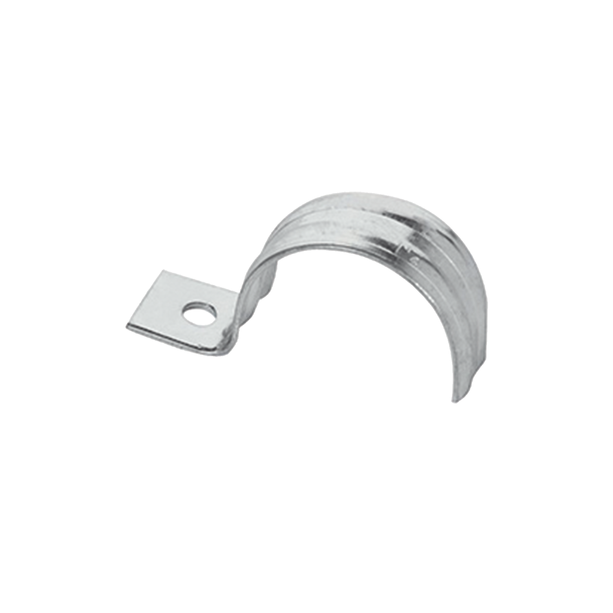 Abrazadera para tubo tipo uña 1 1/2 bolsa con 5 piezas