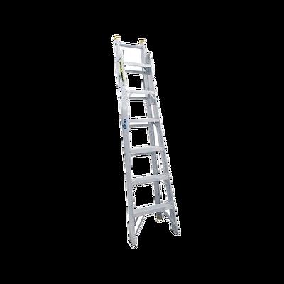 Escalera de Aluminio 2 Modos: Tijera (1.99m) / Extensible (3.98m) de 13 Escalones.