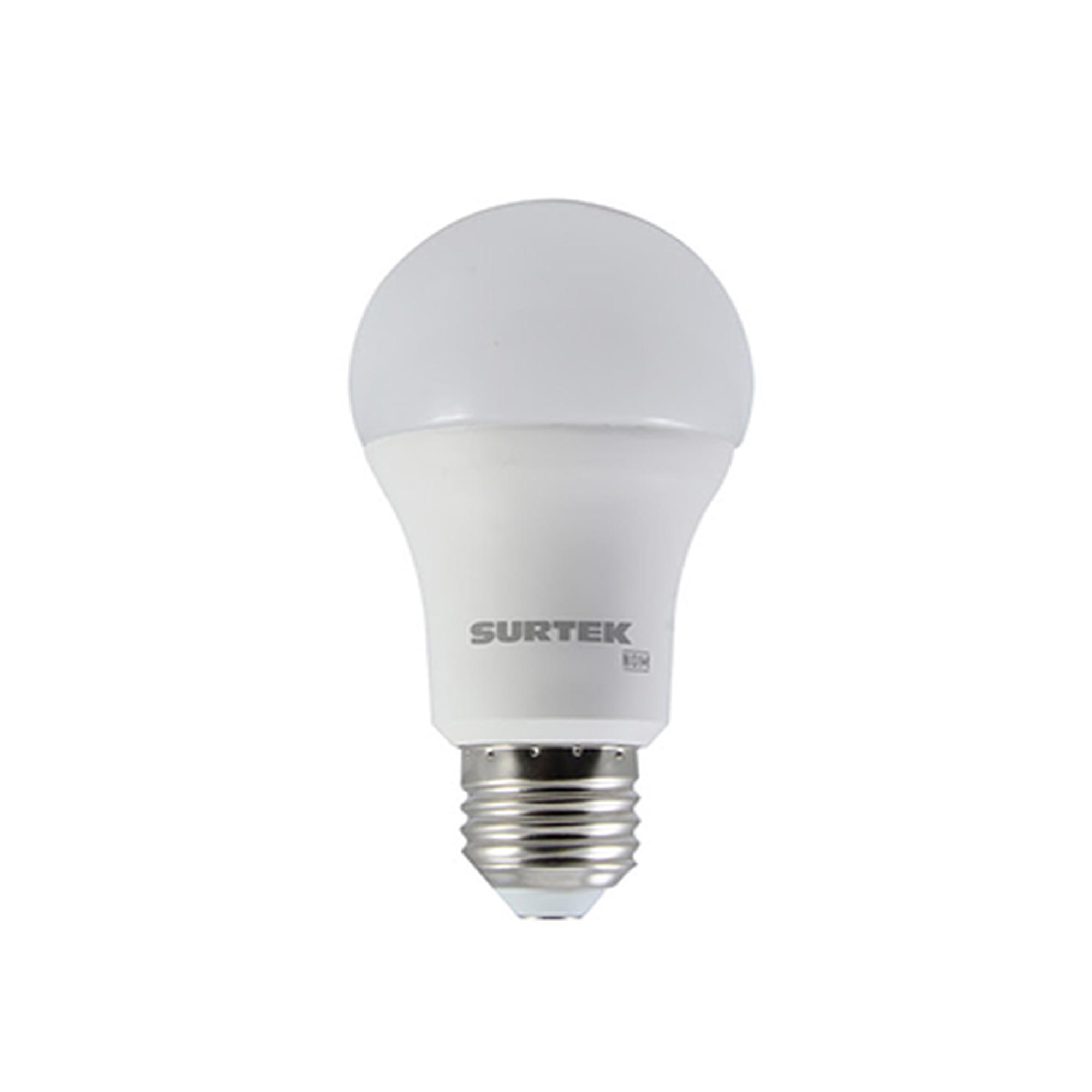 Foco LED A19, Luz de Día 9W, 120 Vca  (LED de Novena Generación).