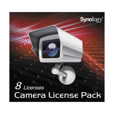 Licencia para 8 cámaras IP en servidores SYNOLOGY