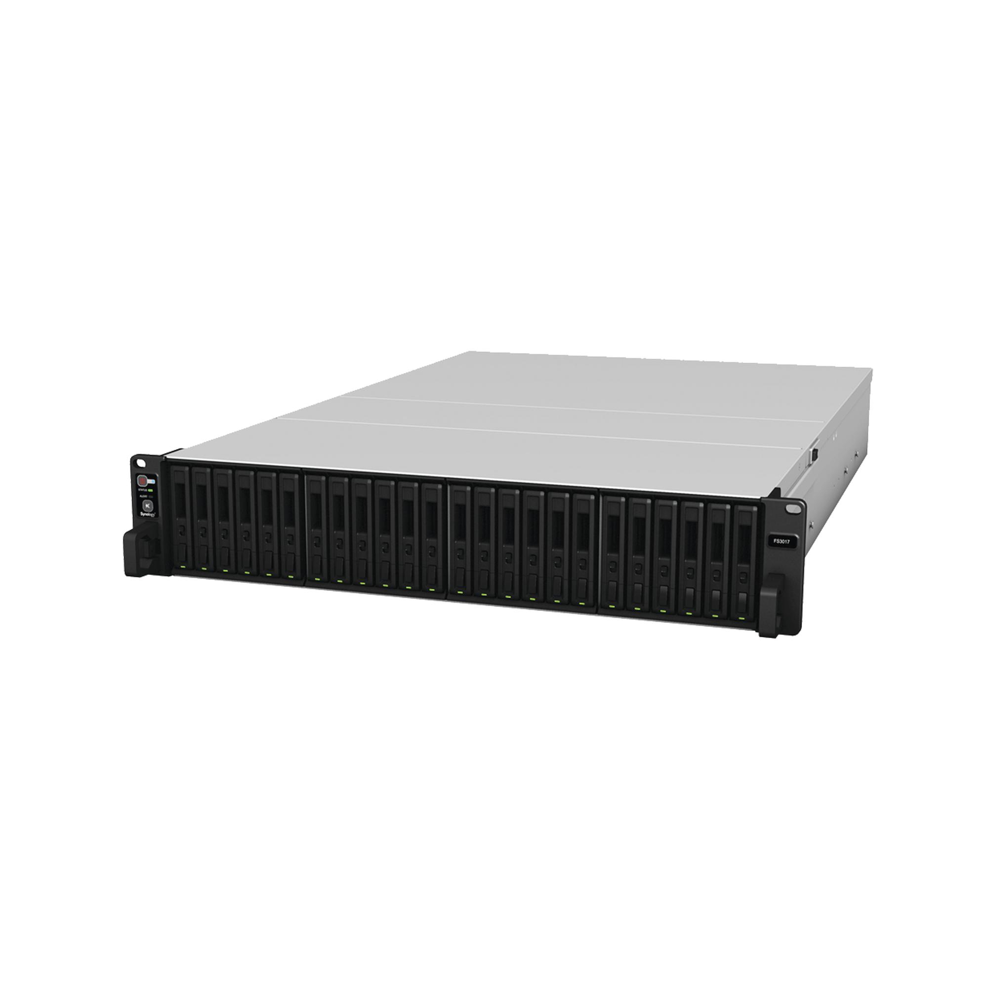Servidor FlashStation de 24 bahías / Expandible a 72 bahías / Hasta 288 TB