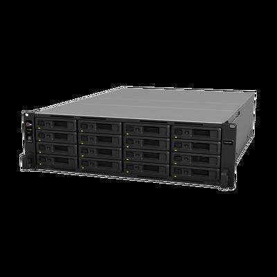 Servidor NAS para rack de 16 bahías / Expandible a 28 bahías / Hasta 336 TB