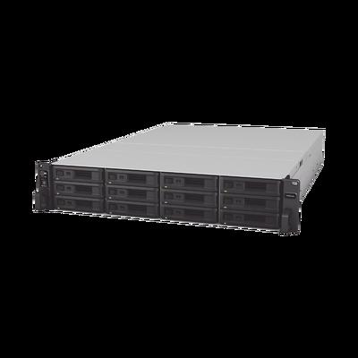 Servidor NAS para rack de 12 bahías / Expandible a 36 bahías / Hasta 576 TB