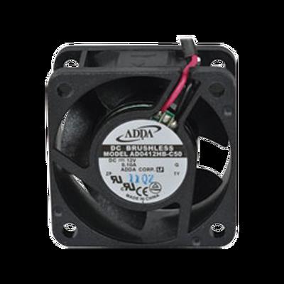 Ventilador Axial de 40 X 40 X 20 mm, Rodamiento de Baleros, Cables de 30 cm, 12 Vcd, 100 mA, 8.8 CFM.
