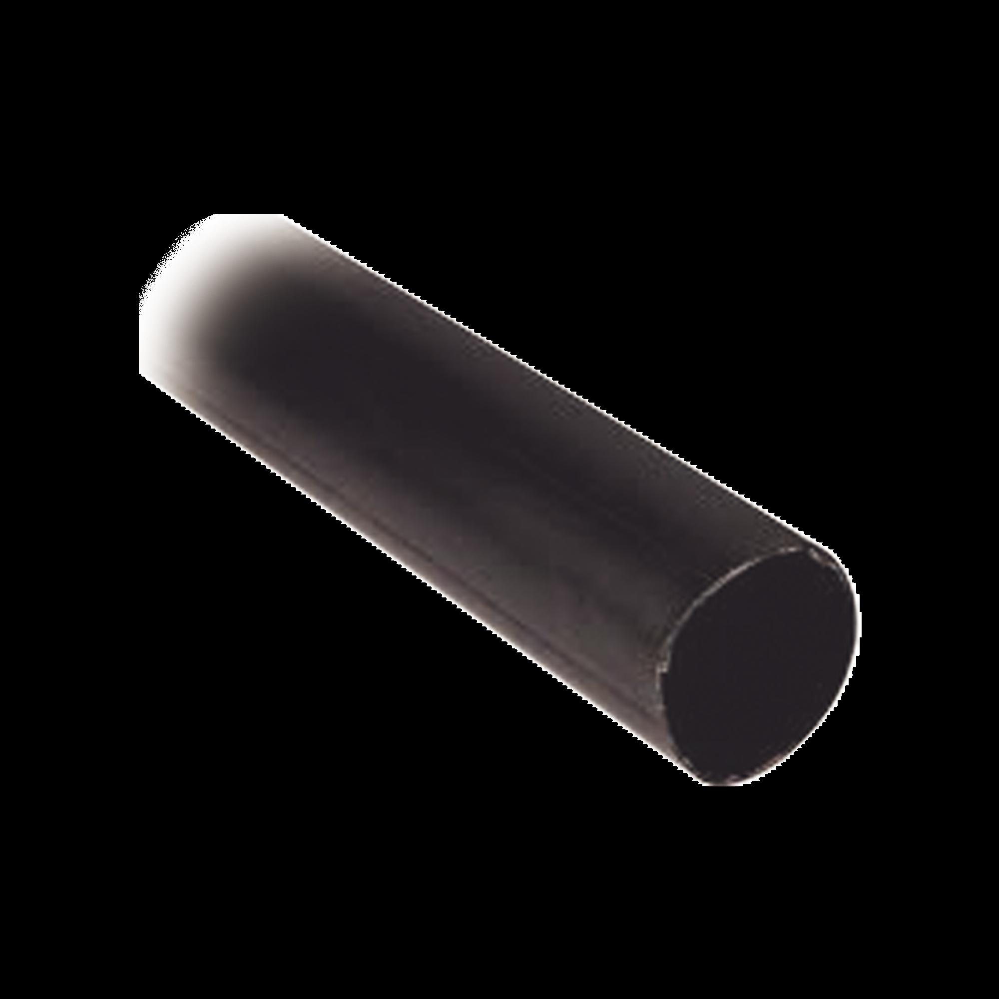 Tubo Termoencogible (Termofit) Negro de 1.2 m, 1.5 de Diámetro, Reduce de 2:1, Poliolefina.