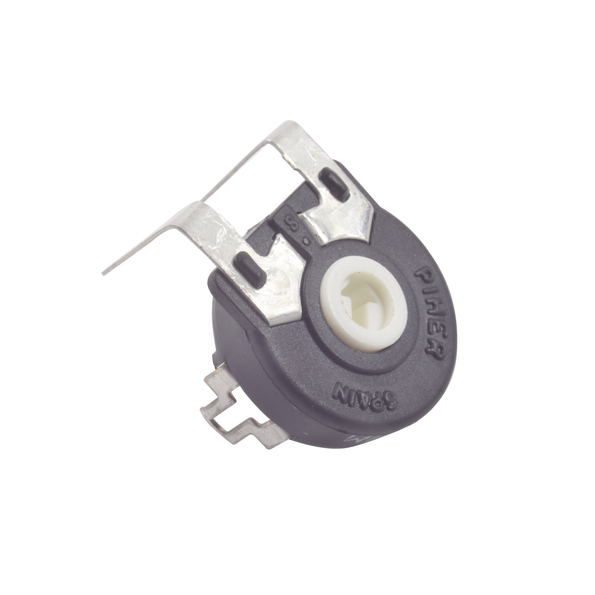 Potenciometro de Carbon de 10 k Ohm, 0.25 Watt 15 mm Ajuste Vertical.