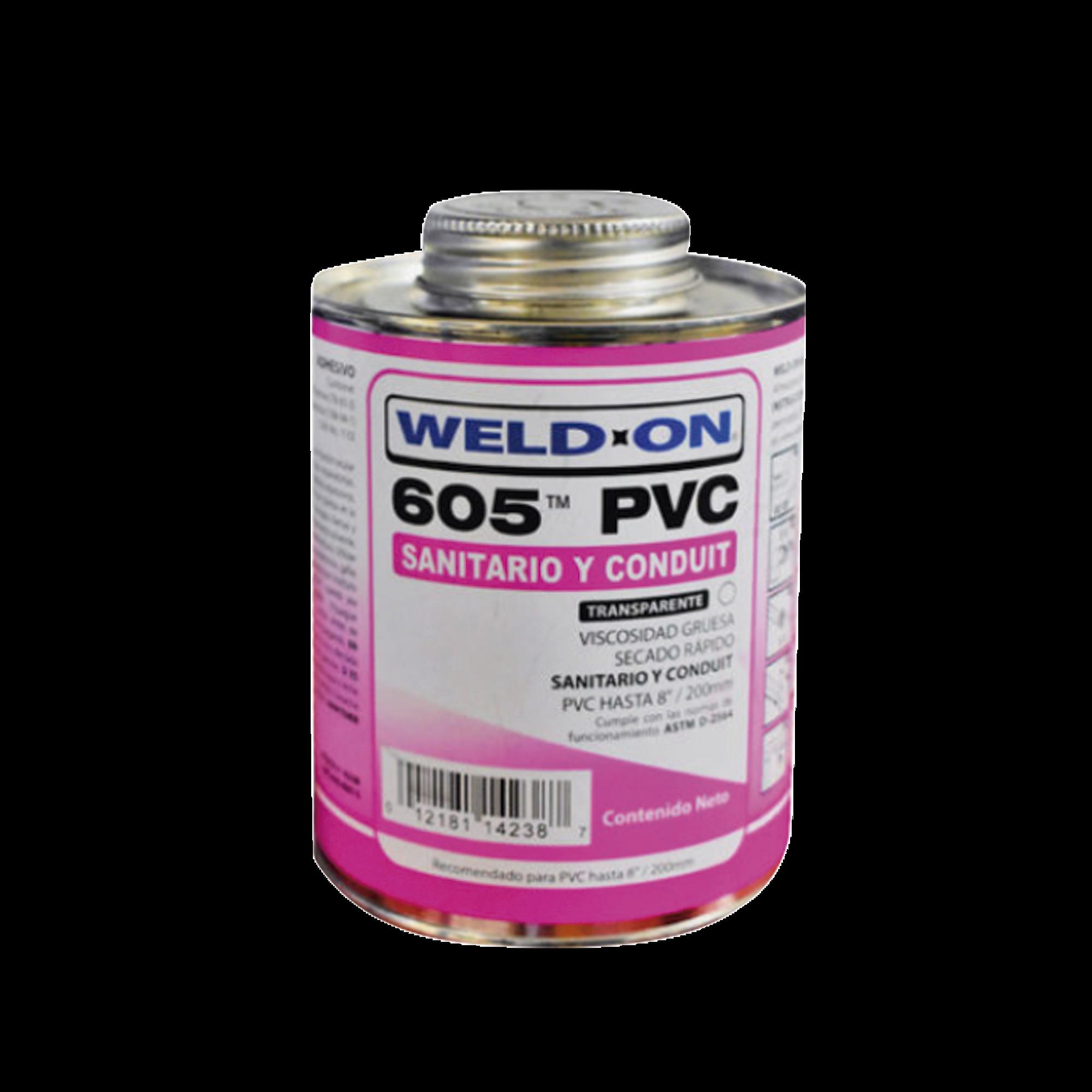 Pegamento para PVC 473 ml