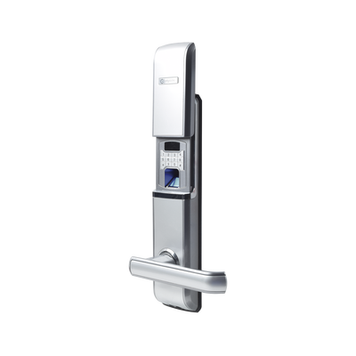 Cerradura  Digital  Biométrica Autónoma con doble cerrojo derecha
