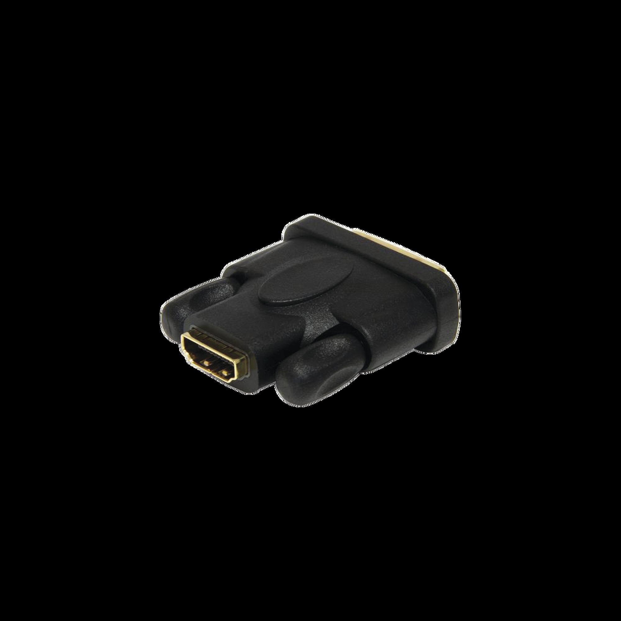 Convertidor de DVI (Macho) a HDMI (Hembra)
