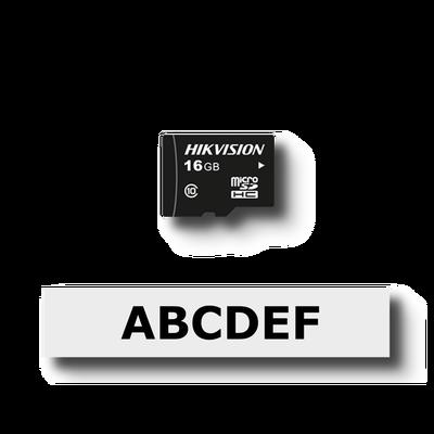 Memoria micro SD con software de adaptador en la nube de Epcom Cloud (8 canales de video) para Raspberry Pi 3 B+