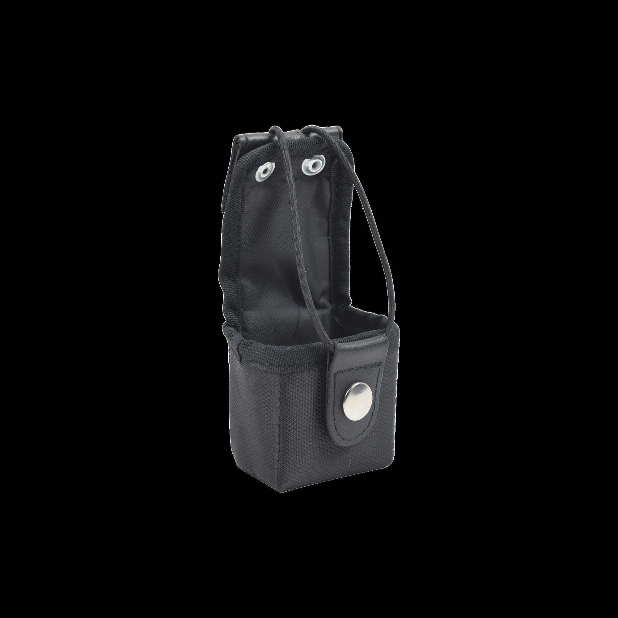 Funda Universal Corta de Vinilo para cinturon con soporte de correa y broche.
