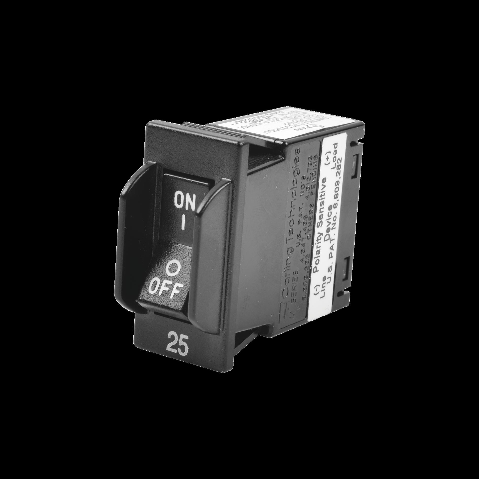 Interruptor/ Breaker Magnético-Hidráulico de 25 Amperes