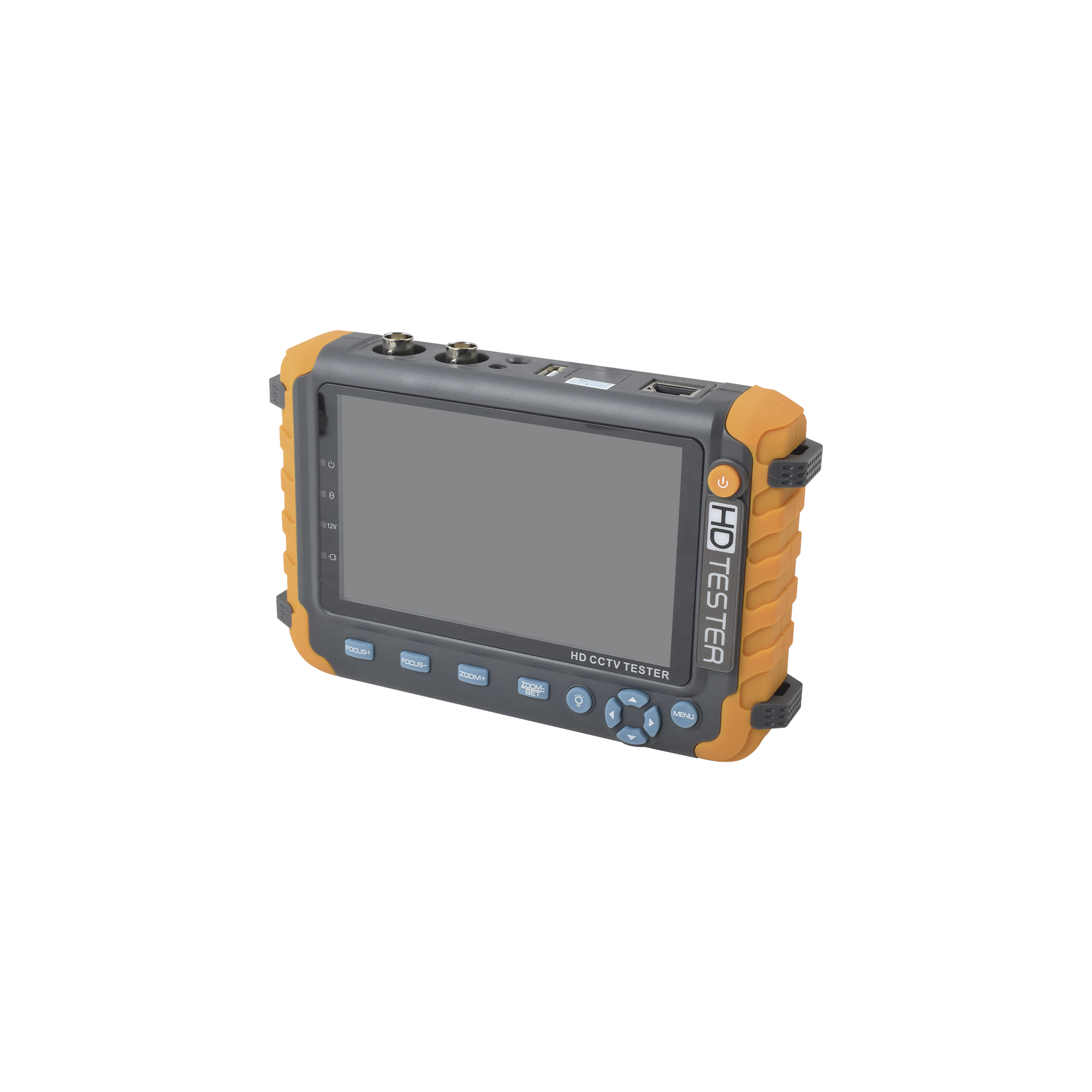 Probador de Vídeo con Pantalla de 5 Para Cámaras HD-TVI 5MP, HD-CVI 5MP, AHD 5MP / Soporta Coaxitron Para Control PTZ