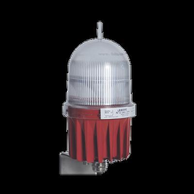Lampara de Obstrucción LED con Certificación FAA L-810, con 100,000 Horas de Vida.
