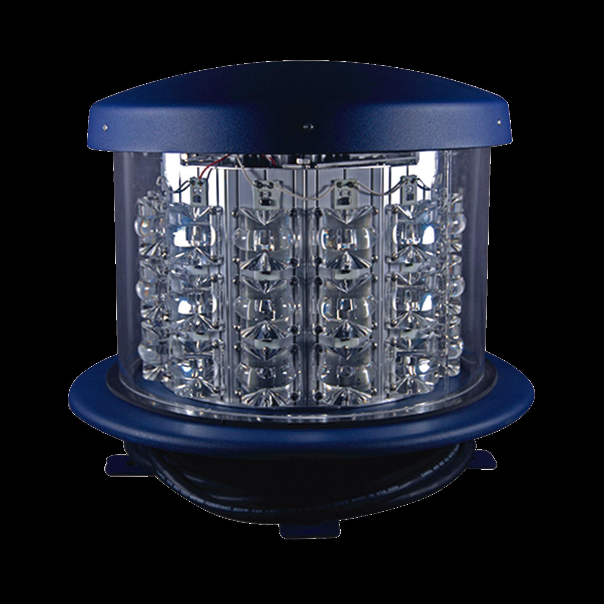 Lámpara de Obstruccion Roja Tipo L-864, LED  de media intensidad, (120 - 240 V ca).