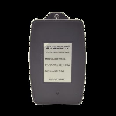 Transformador de 24 Vca, 50 VA cuenta con fusible interno fácilmente intercambiable (UDL004)