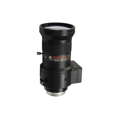 Lente Varifocal 5 a 100 mm / 2MP / Iris Automático / Día/Noche / Formato 1/2.7