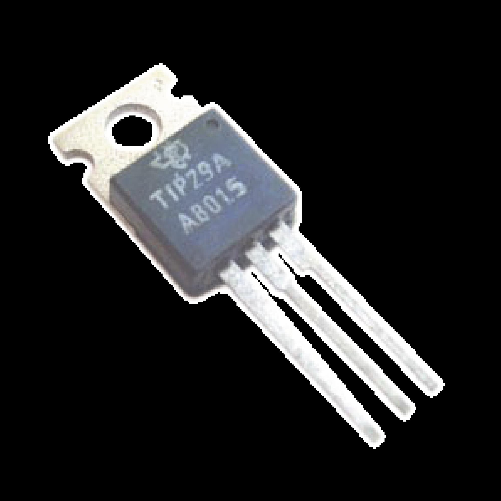 Transistor NPN, VCE 60 V,  1 Amp., TO-220.