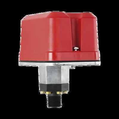 Interruptor de Supervisión de Presión de Agua, Respuesta Ajustable de 10 a 100 PSI, con Doble Relevador