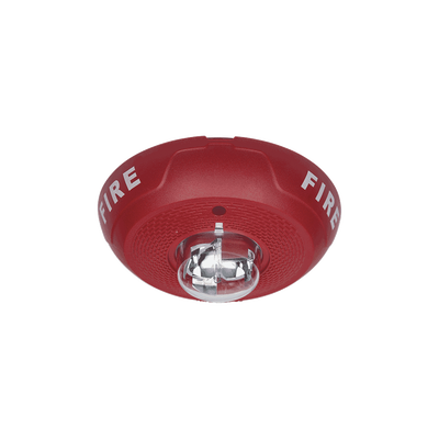 Lámpara Estroboscópica para Montaje en Techo, Color Rojo, Nivel de Candelas Seleccionable, Nuevo Diseño Moderno y Elegante y Menor Consumo de Corriente