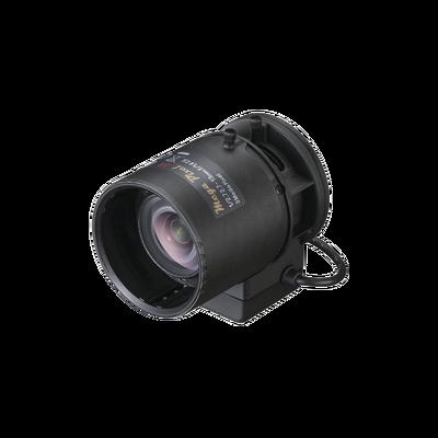 Lente Varifocal 2.7-13mm / Resolución 3 Megapixel / Iris Automático / Día/Noche / Formato 1/2.7