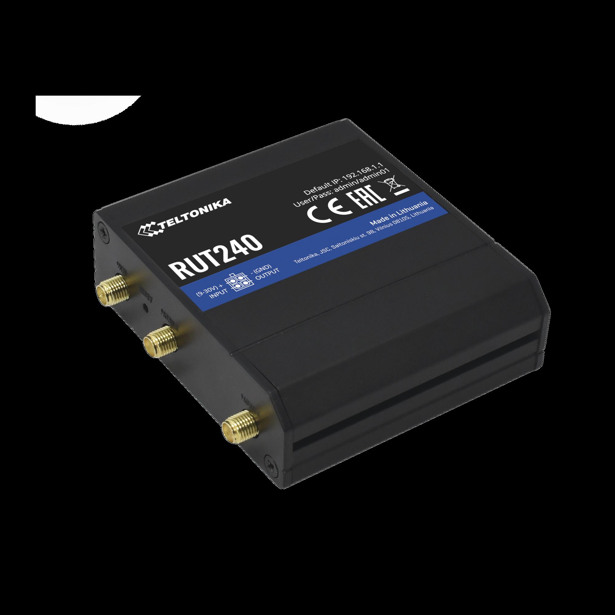 Router LTE, Slot para SIM, 2 puertos Ethernet 10/100 Mbps, Wi-Fi 2.4 GHz, Interfaz Amigable, Bandas B1, B2, B3, B4, B5, B7, B8, B28