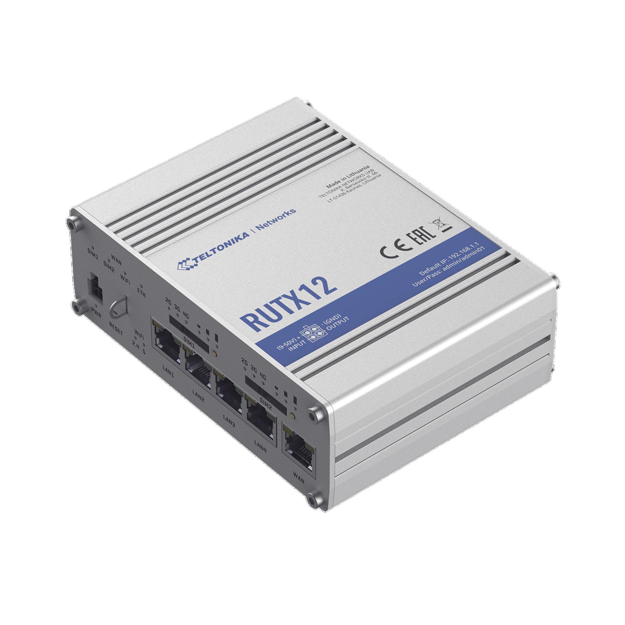 Router Industrial LTE cat 6, Doble Modem y doble SIM, GNSS, carcasa industrial