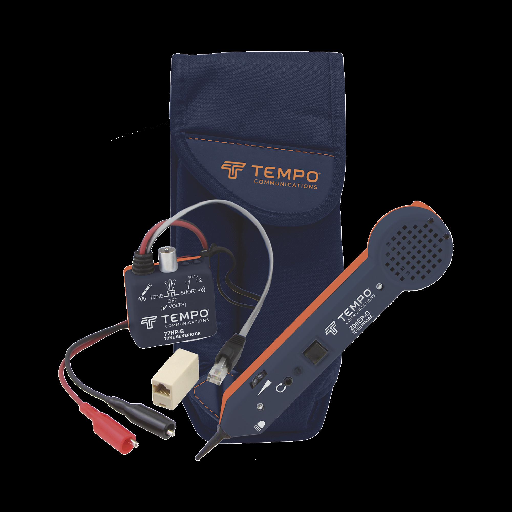 Generador de Tonos Profesional con Amplificador Inductivo para cable de red