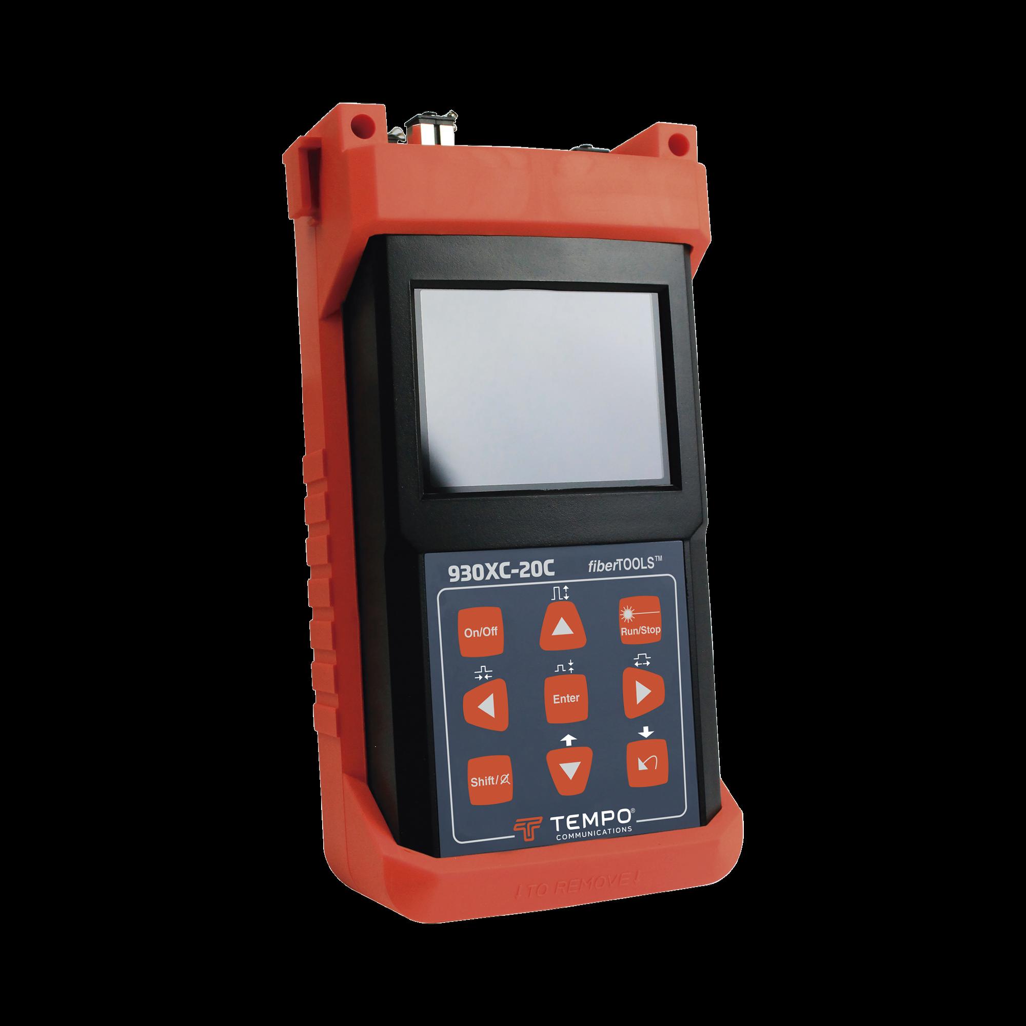 OTDR para pruebas en Enlaces de Fibra optica, longitudes de onda 1310 y 1550 nm, entrada SC/UPC