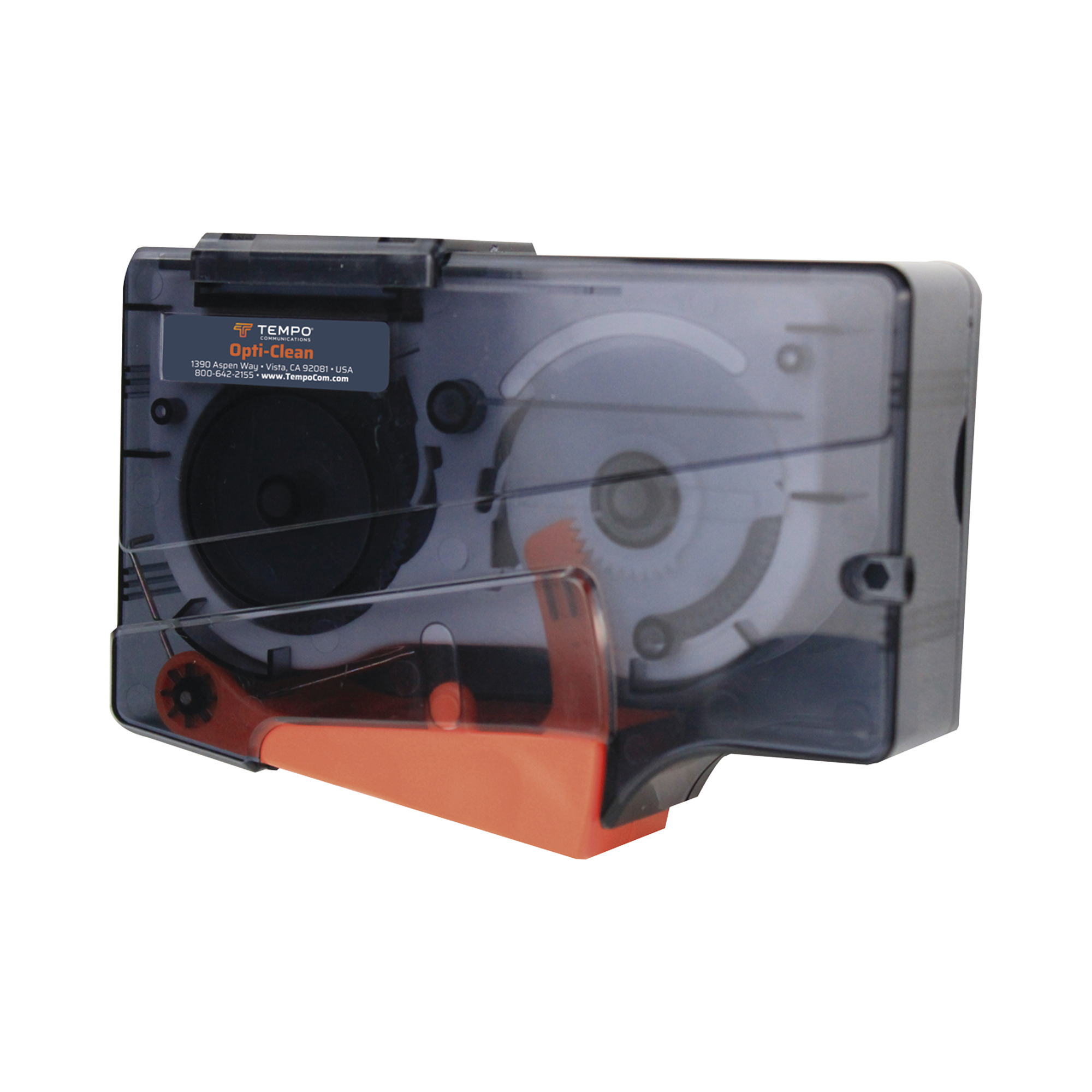 Limpiador para conectores de Fibra óptica (más de 600 ciclos de limpieza)