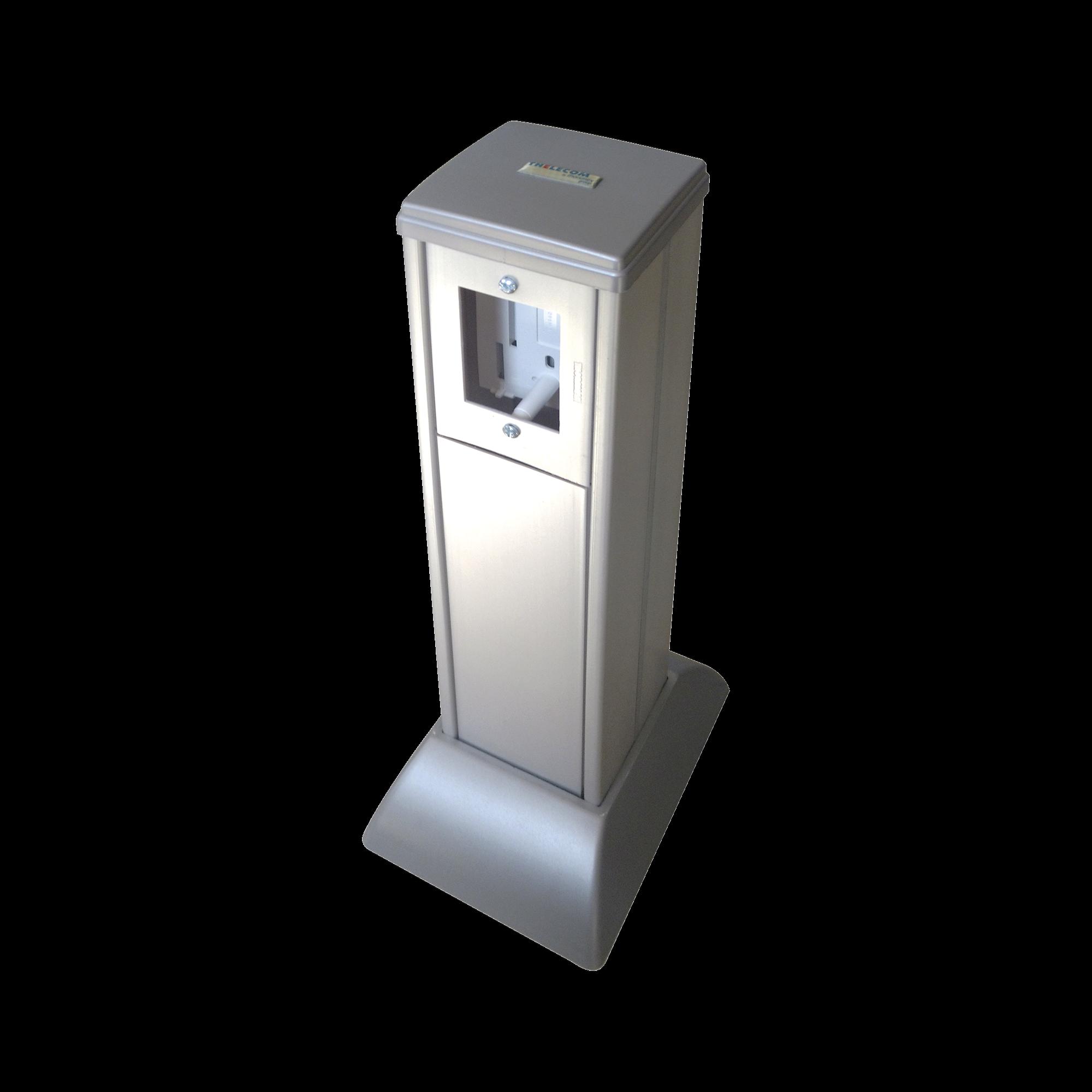 Mini columna color aluminio todo en uno, administre datos y energía (10000-02000)