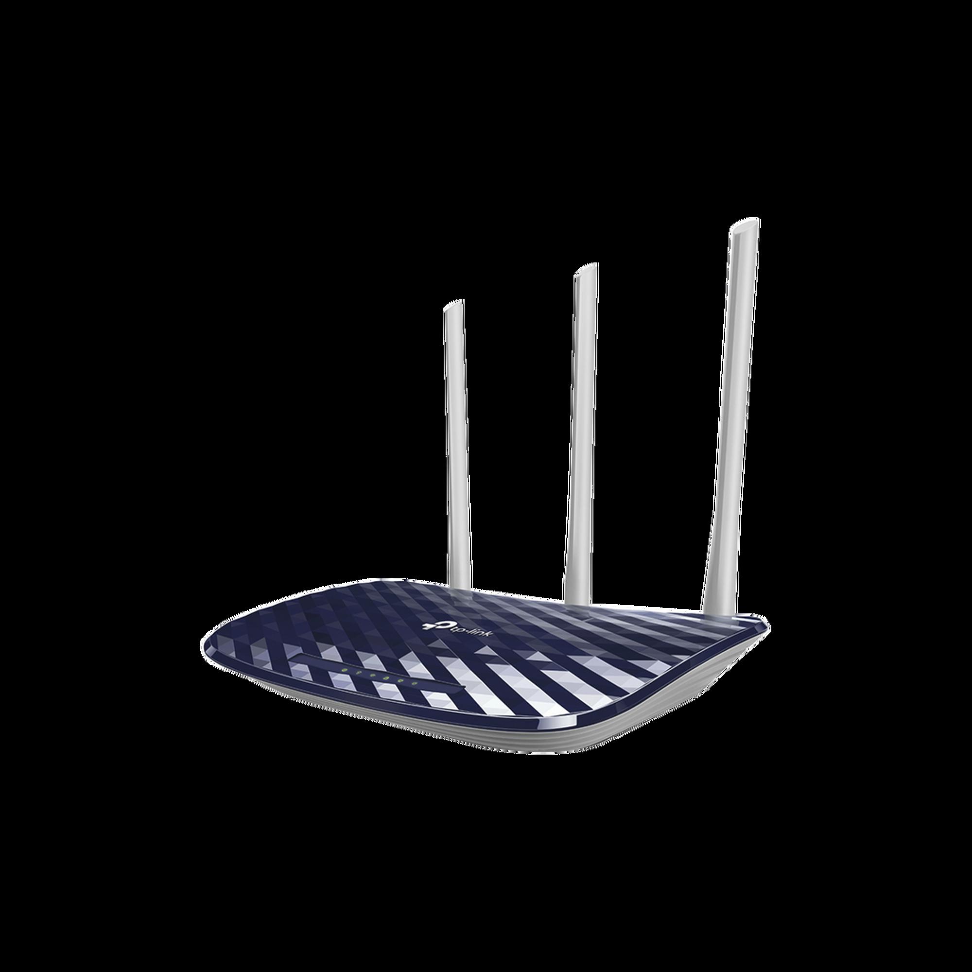 Router Inalámbrico WISP con Configuración de fábrica personalizable, doble banda AC, con antenas de alta ganancia, hasta 733 Mbps, 4 Puertos LAN 10/100 Mbps, 1 Puerto WAN 10/100 Mbps