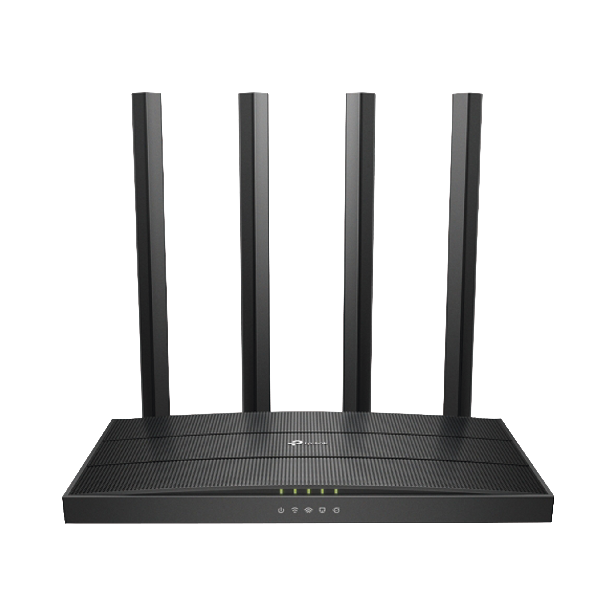 Router inalámbrico AC Wave 2 1900 doble banda 1 puerto WAN 10/100/1000 Mbps y 4 puertos LAN 10/100/1000 Mbps, MIMO 3X3, Beamforming