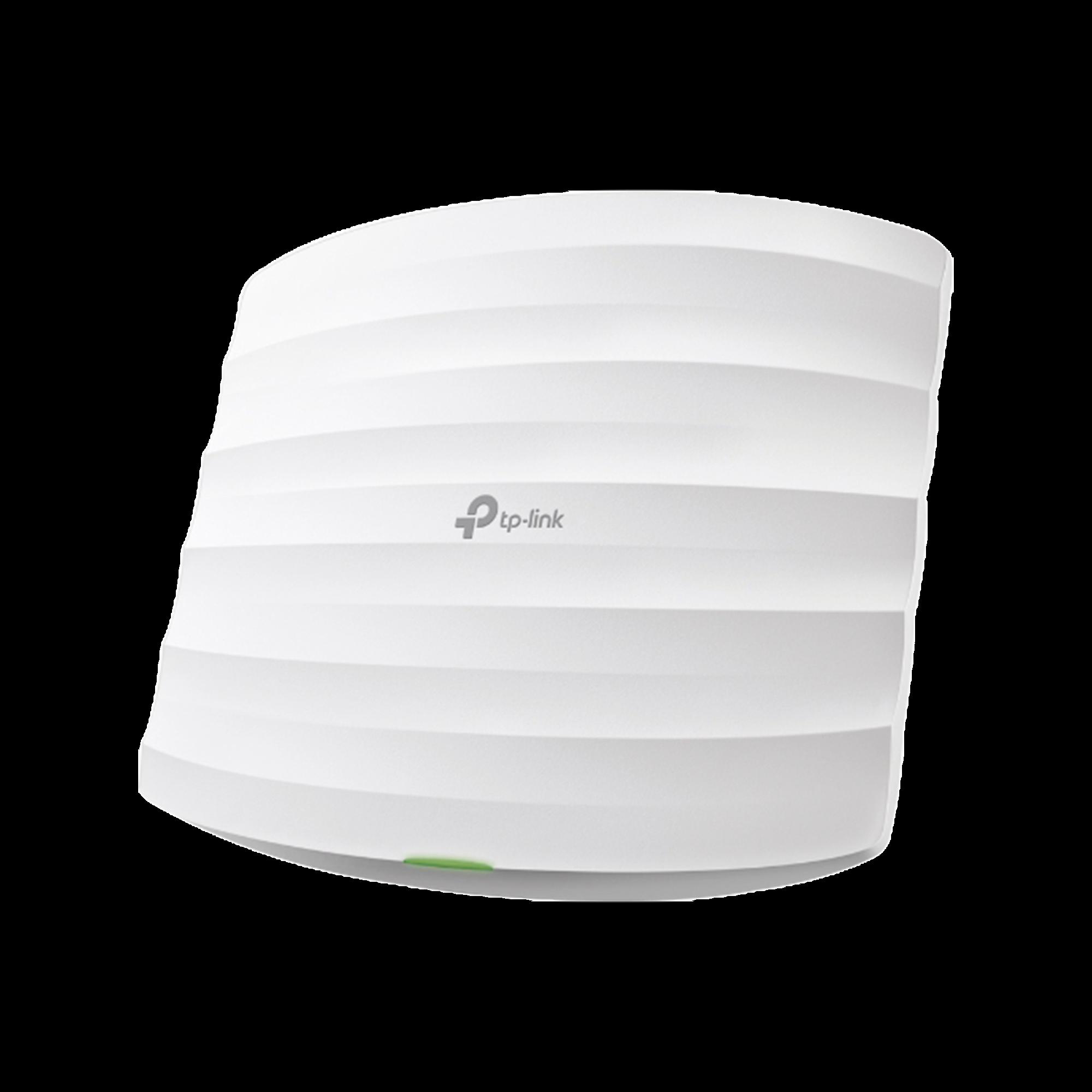 Punto de Acceso Omada, 802.11 b/g/n (2.4 GHz), hasta 300 Mbps, alimentación PoE 802.3af, para montaje en techo, soporta hasta 50 clientes.