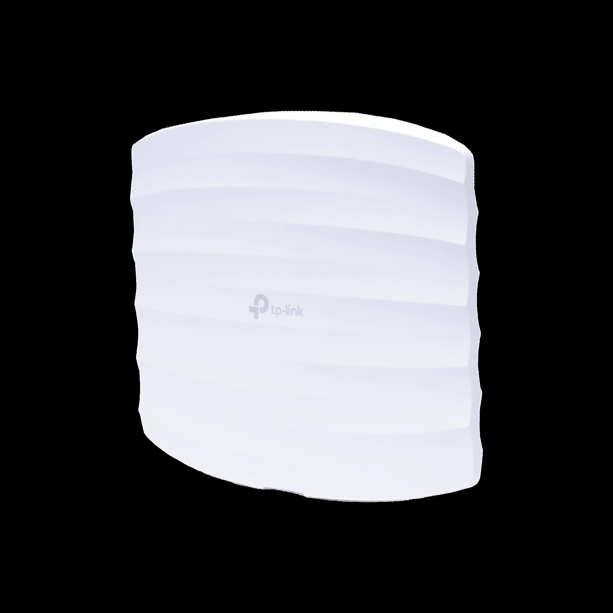Punto de Acceso Omada doble banda 802.11ac, MU-MIMO, PoE af y PoE Pasivo, soporta hasta 100 clientes, hasta 1750 Mbps.