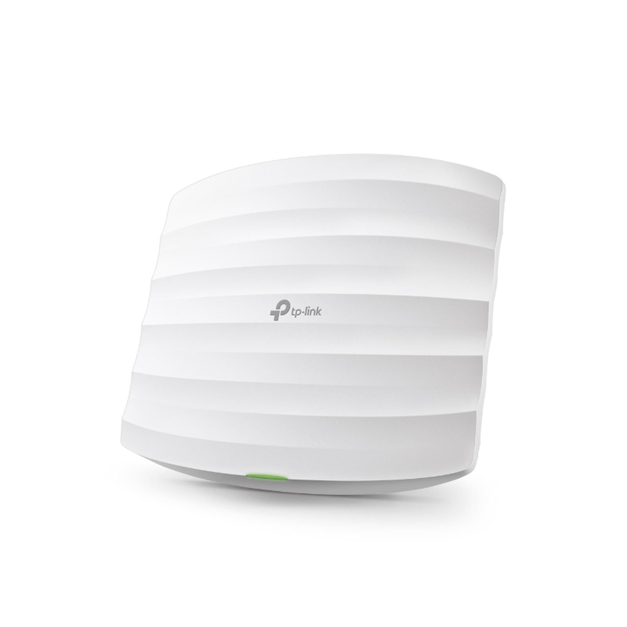 Punto de Acceso Omada de alta densidad, doble banda 802.11ac, MU-MIMO, PoE af y PoE Pasivo, 3 antenas internas, soporta hasta 500 clientes, hasta 1750 Mbps.