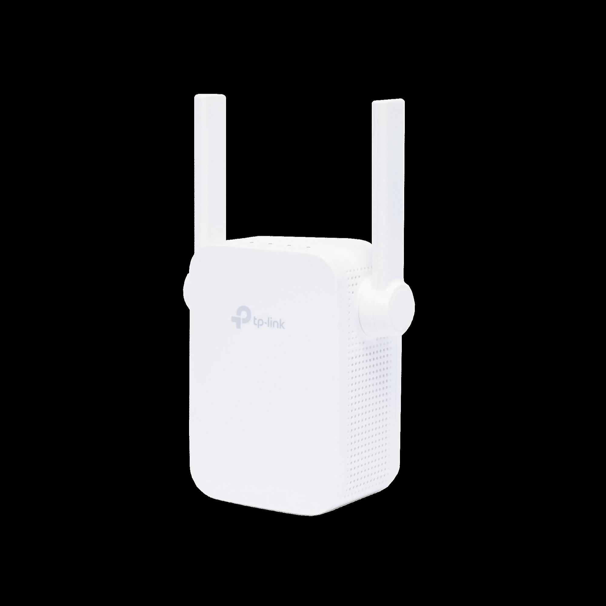 Repetidor / Extensor de Cobertura WiFi AC, 750 Mbps, doble banda 2.4 GHz y 5 GHz, con 1 puerto 10/100 Mbps con 2 antenas externas