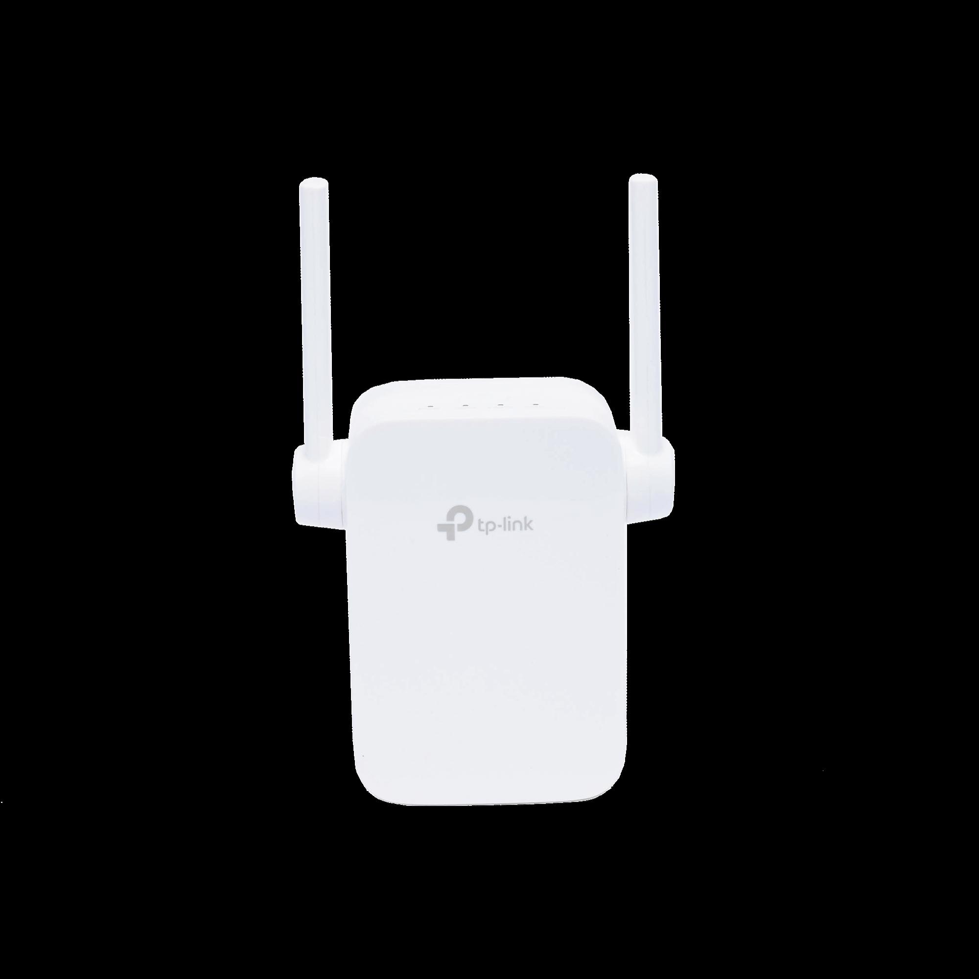 Repetidor / Extensor de Cobertura WiFi AC, 1200 Mbps, doble banda 2.4 GHz y 5 GHz, con 1 puerto 10/100 Mbps, con 2 antenas externas