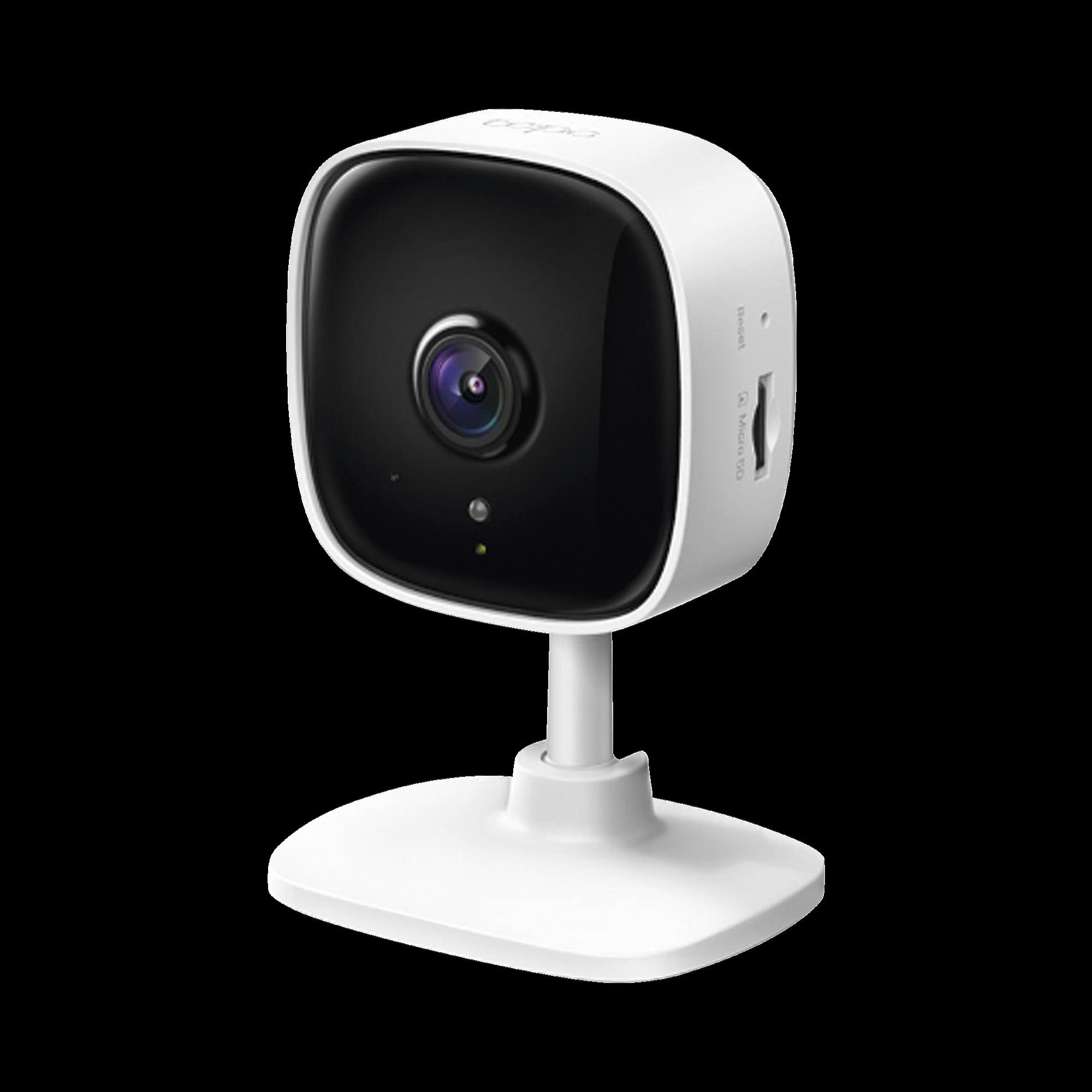Cámara IP Wi-Fi para hogar, 2 megapixel, audio doble vía, visión nocturna, notificación Push, acepta memoria Micro SD de para grabación.
