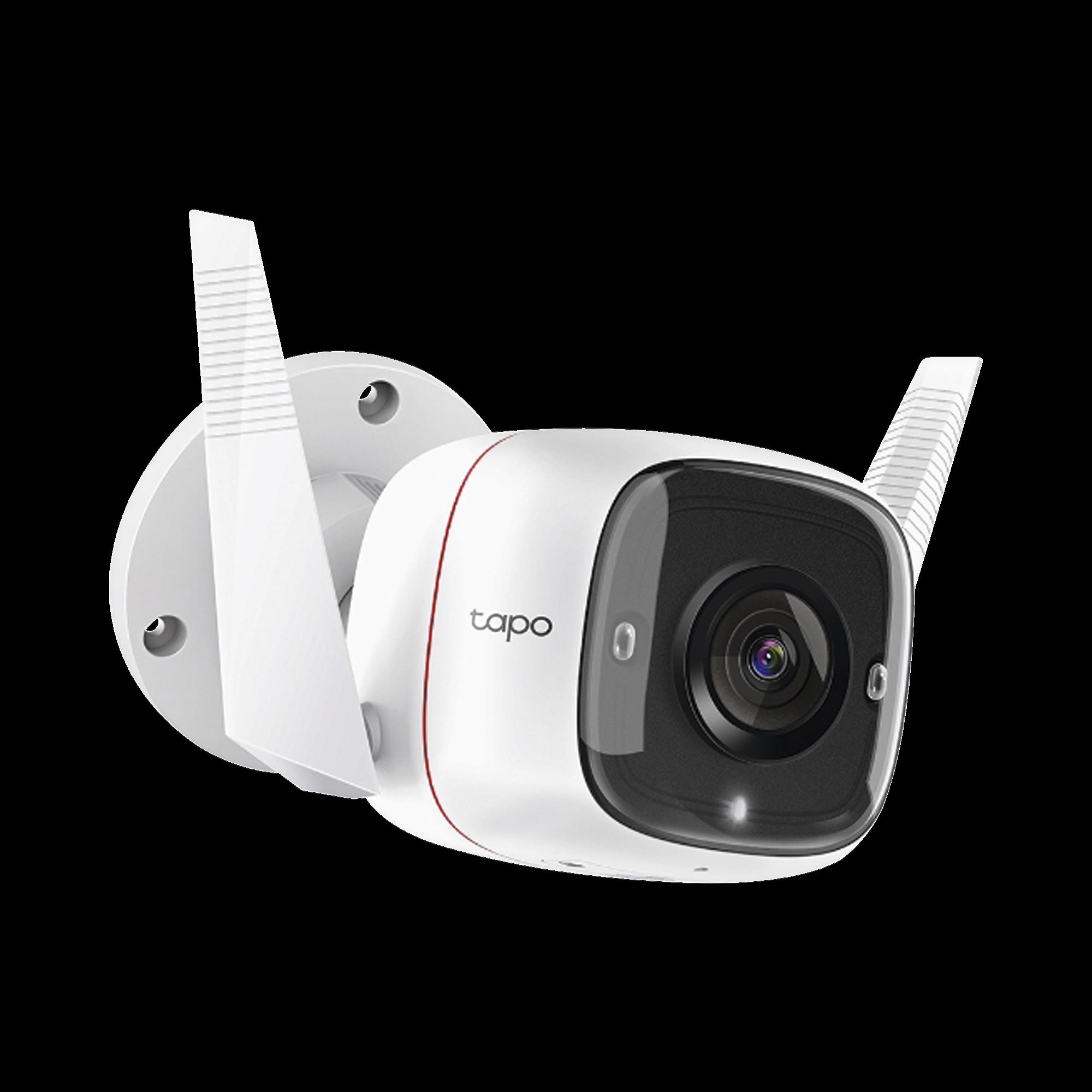 Cámara IP Wi-Fi para exterior, 3 megapixel, audio doble vía, visión nocturna, notificación Push, acepta memoria Micro SD de para grabación.
