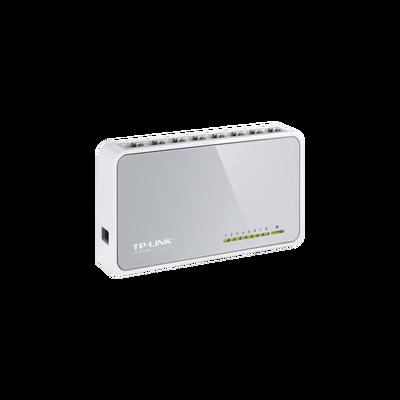 Switch de escritorio 8 puertos 10/100 Mbps